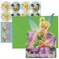 Tinker Bell Best Friend Fairies Postcard Invitations