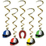 Hanging Decoration Derby Day Whirls
