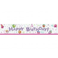 Shopkins Happy Birthday Banner
