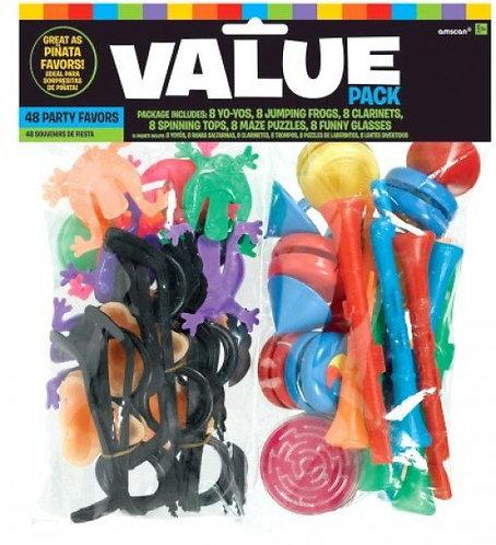 Value Pack Favor - Party Pinata Mega