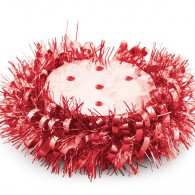 Classic Red Centrepiece & Tinsel