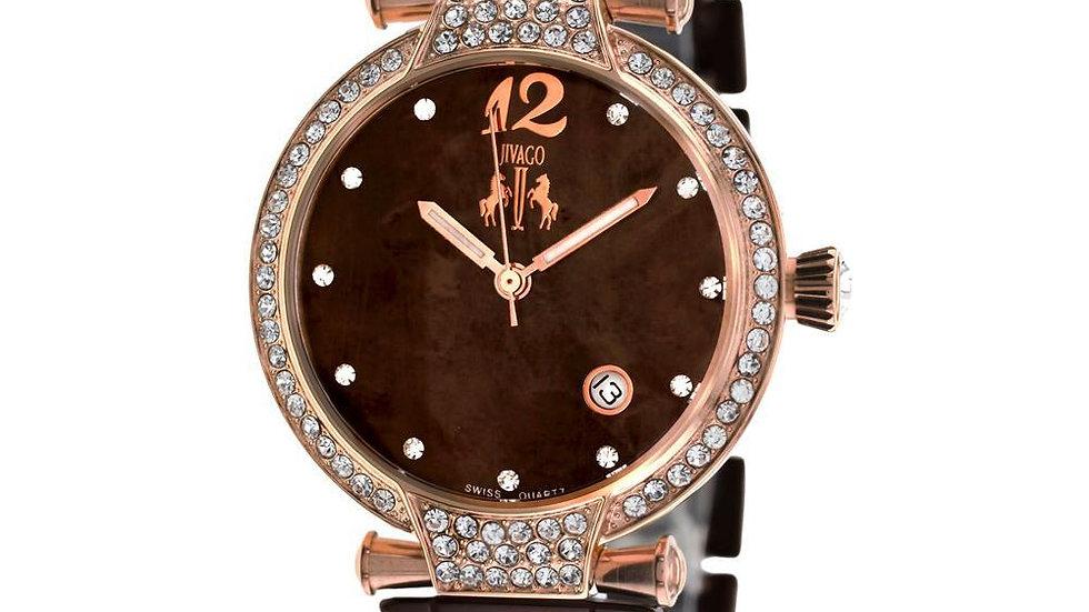 Bijoux Terner Stainless Steel Band Wristwatch