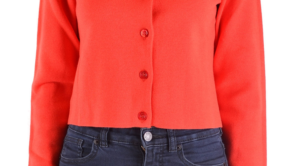 Boutique Moschino Red Women's Cardigan