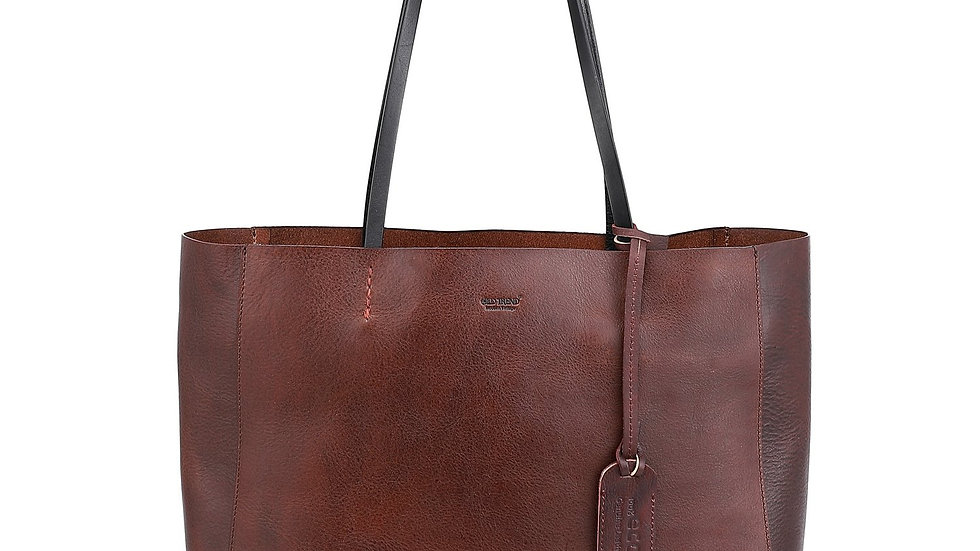 OLD TREND Genuine Leather Out West Tote Bag
