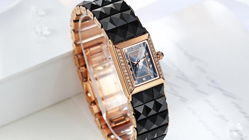 Relogios Feminino Luxe Women's Quartz Bracelet Wristwatch