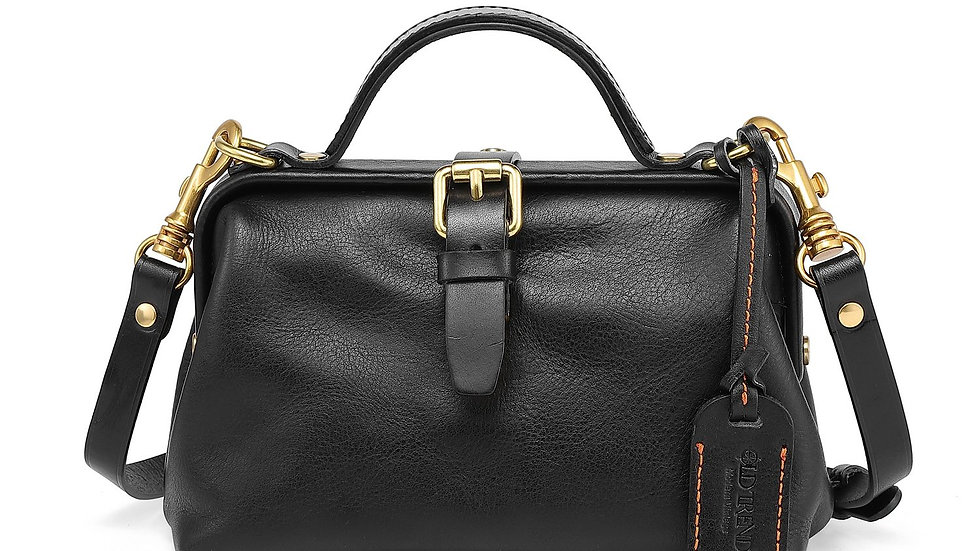 OLD TREND Doctor Genuine Leather Crossbody Bag