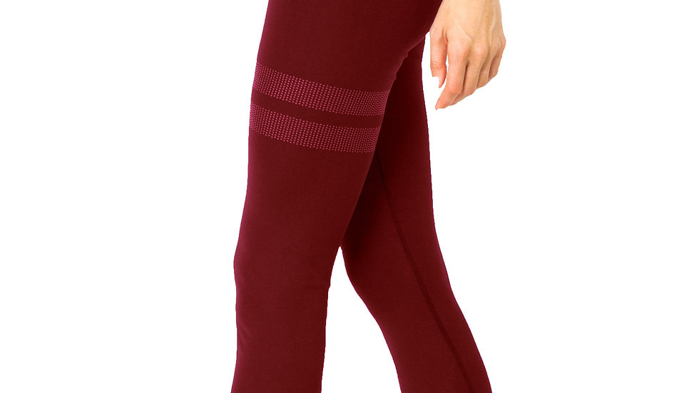 Ashton Leggings - Maroon
