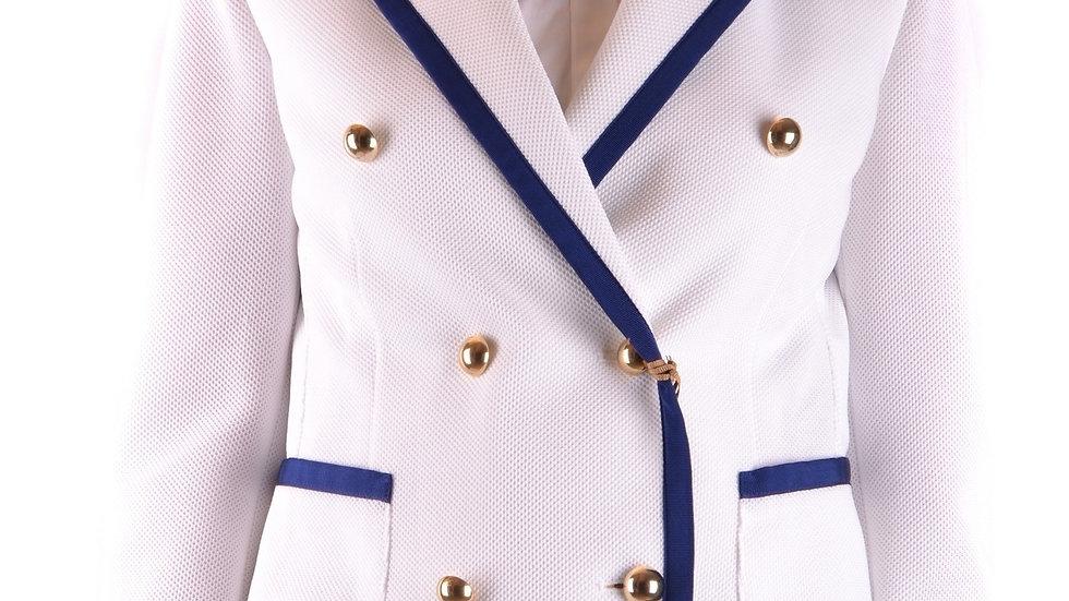 Women's White Fay Jacket – Luxury Brands