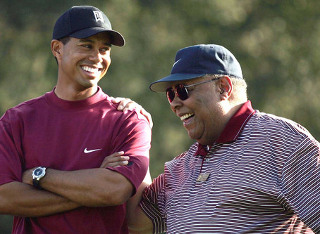 On Earl, Tiger and Charlie Woods, and the bond that ties them BY: MICHAEL BAMBERGER JUNE 28, 2020