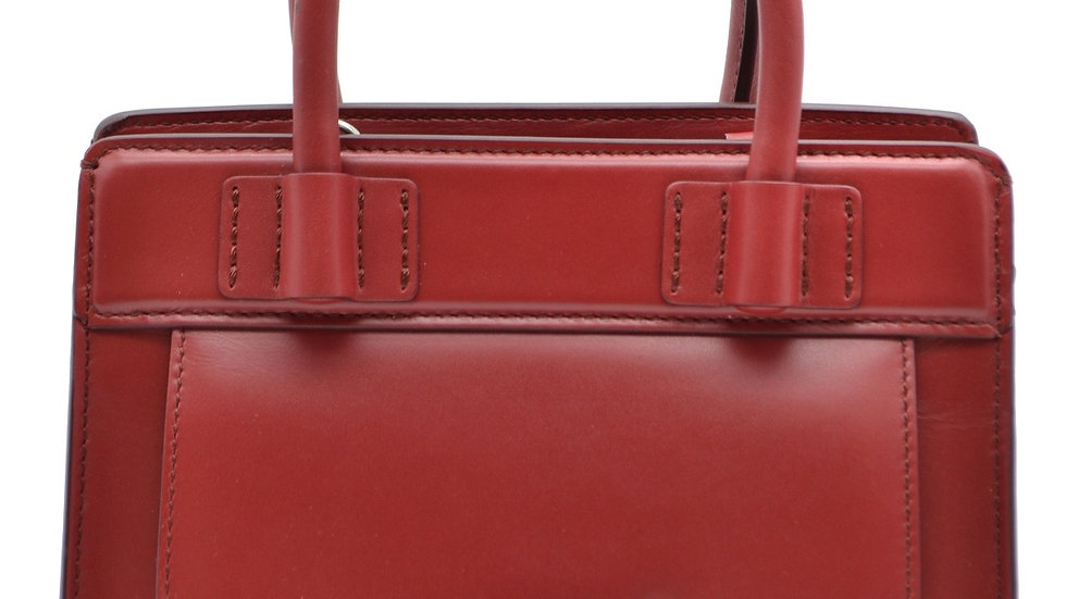 Tod's Red Designer Handbag