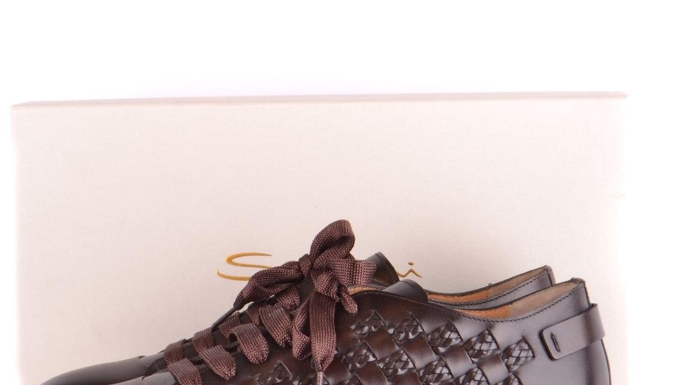 Men's Santoni Handmade Italian Sneakers
