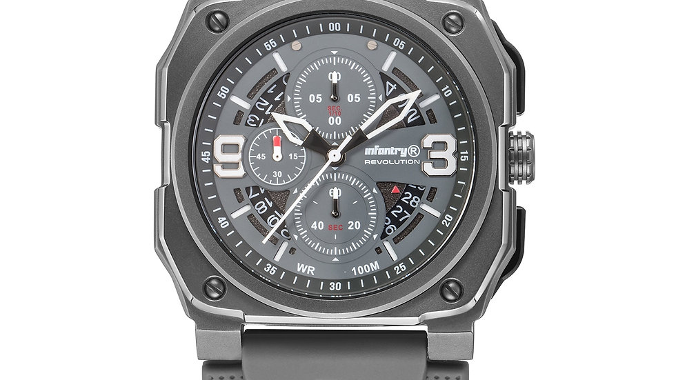 INFANTRY Quartz Mens Chronograph Sport Watch