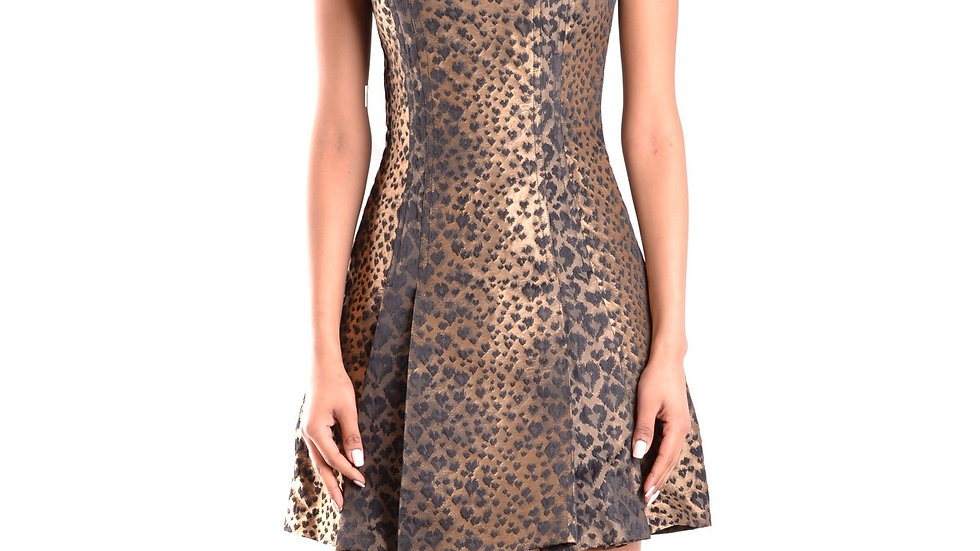 Michael Kors Leopard Print Designer Dress