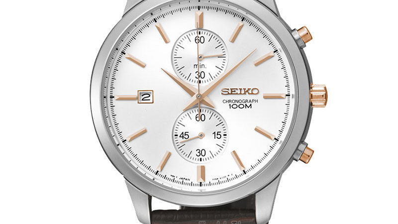 Seiko Solar Quartz Wristwatch