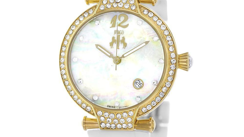 Women's White Bijoux Terner Wrist Watch