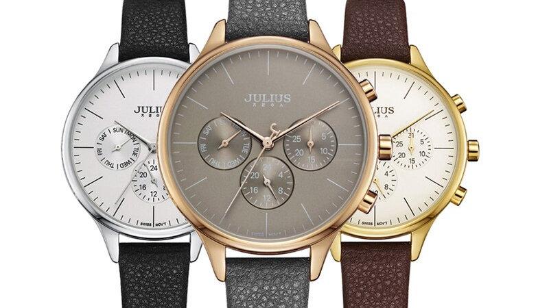 Relojes Mujer Ladies Leather Quartz Fashion Watch