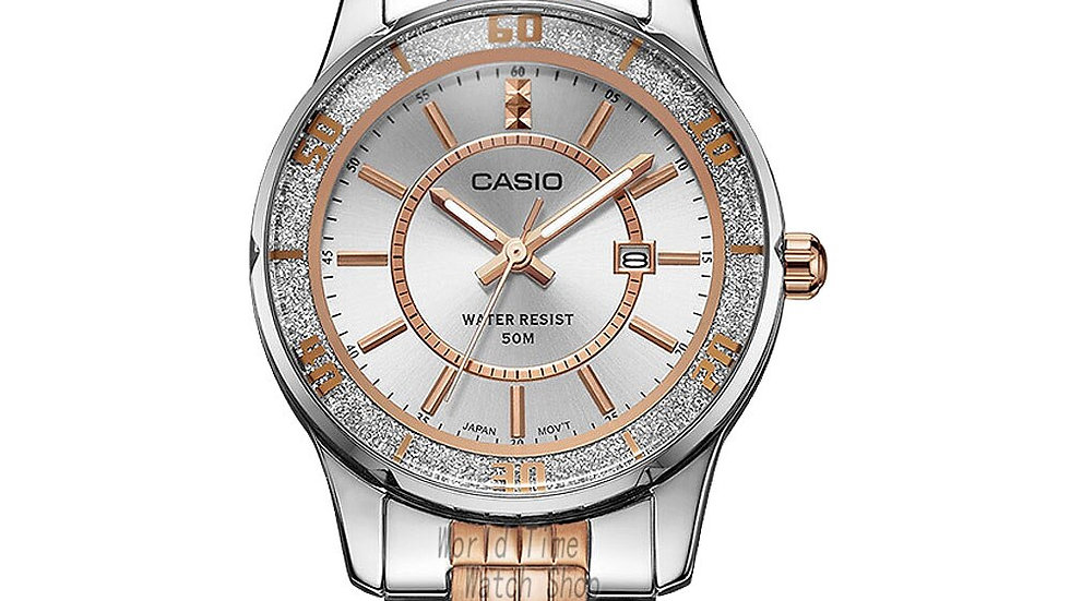 Casio Waterproof Quartz Ladies Wristwatch