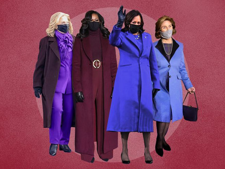 The Deep Meaning of the Color Purple at the Biden Inauguration