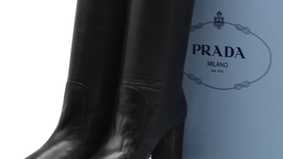 Prada Designer Womens Spring & Summer Boots