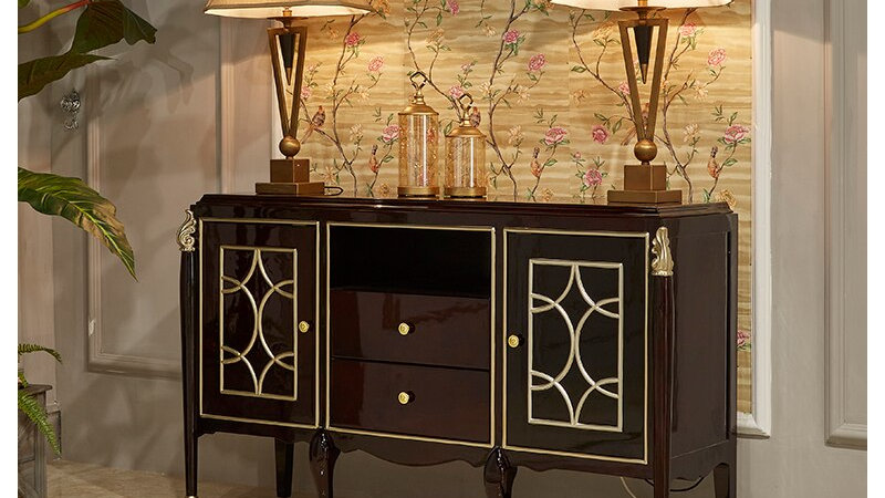Luxury Living Room Sideboard Cabinet Furniture