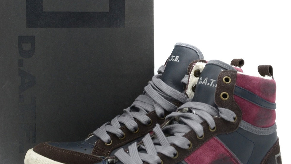 Men's D.A.T.E. Leather Sneakers