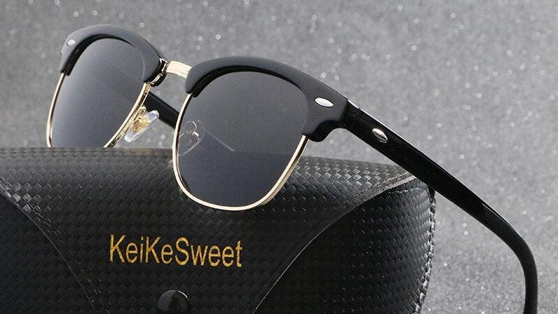 Men's Vintage Polarized Designer Sunglasses
