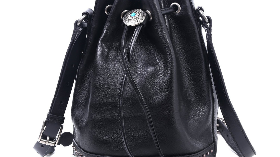Old Trend Genuine Leather Turquoise Cove Bucket Bag