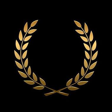 45979916-벡터-골드-수상-월계관-우승자-레이블-잎-기호-승리-승리