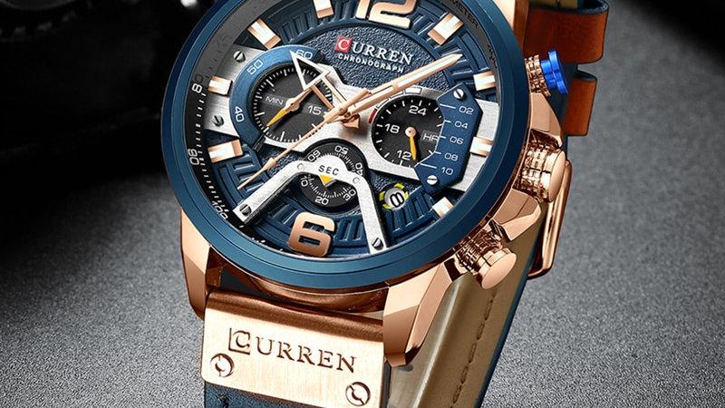 Mens CURREN Luxury Sports Watch