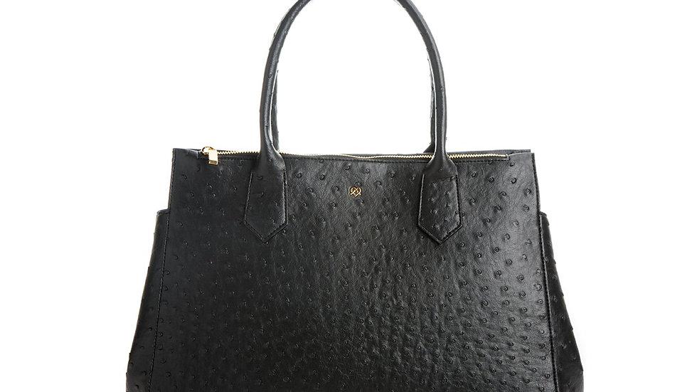 Black Vegan Leather Bag - Koko By GUNAS New York