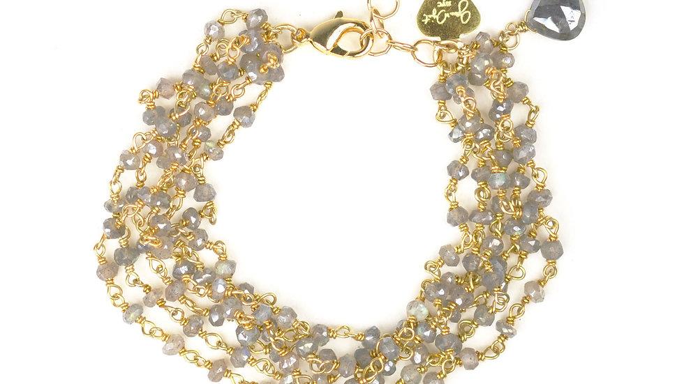 Mystic Labradorite Bracelet