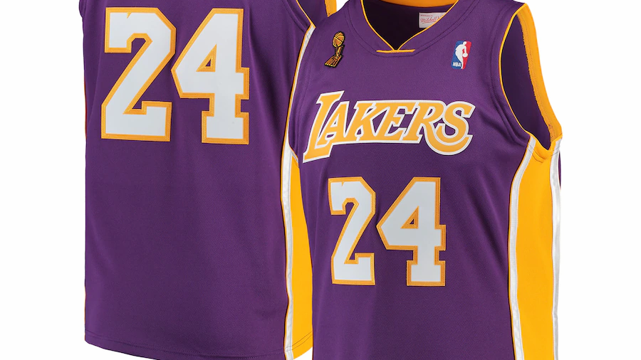 Kobe Bryant Los Angeles Lakers Mitchell & Ness Authentic Jersey