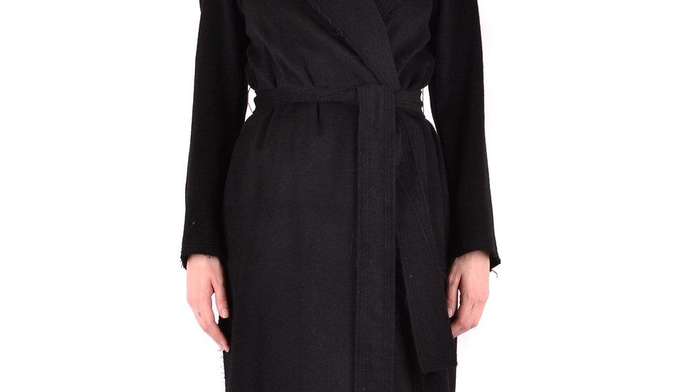 Gotha Women's Black Wool Coat