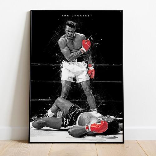 Muhammad Ali vs. Sonny Liston Poster | Online Digital Store