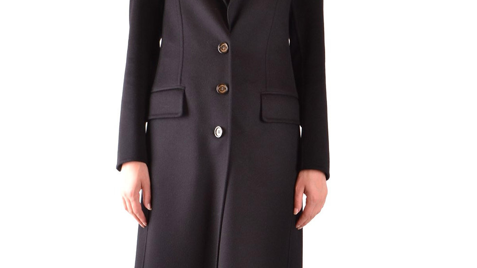 Burberry Fringed Wool Cashmere Trench Coat