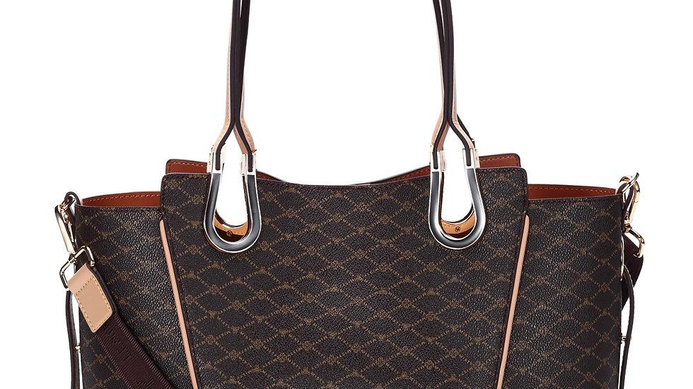 Misty U.S.A. Signature Collection Handbag [MT8293-Bn]