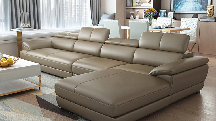 Luxury Leather Sofa Lounge Furniture