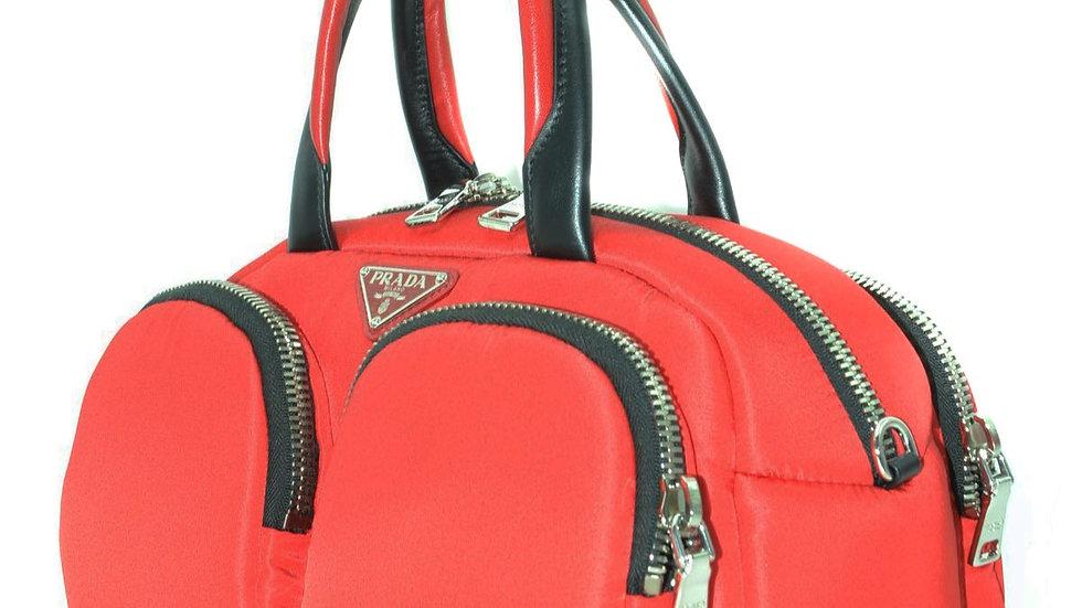 Women's Red Prada Handbag