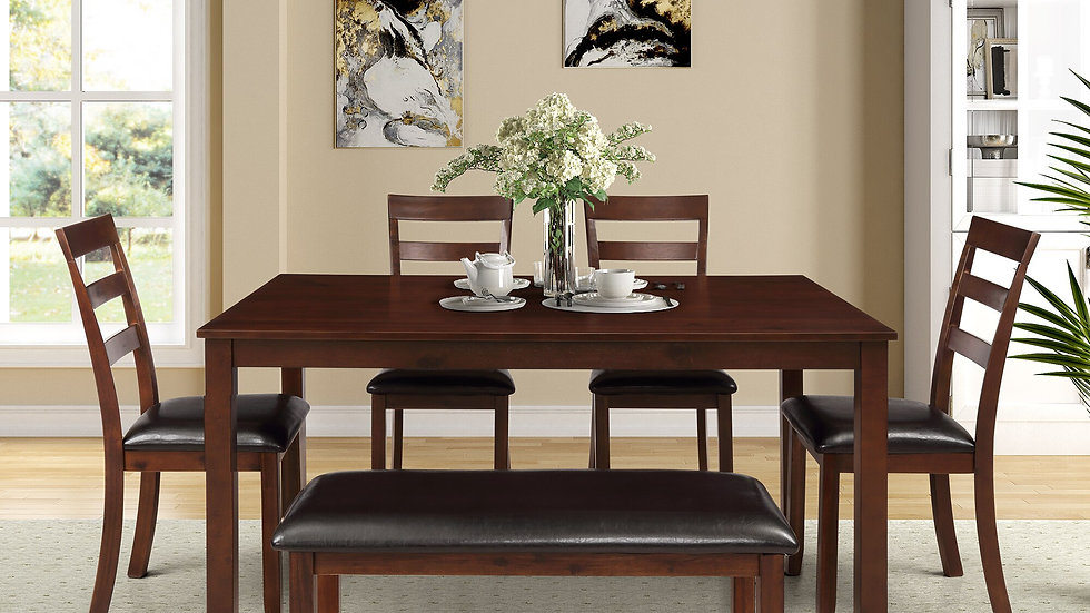 6 Piece Kitchen & Dining Room Set