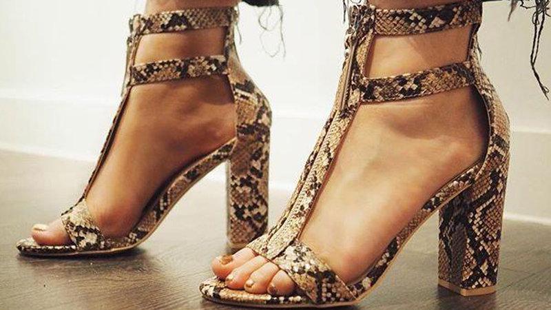 Eilyken High Heels Women Gladiator Sandals