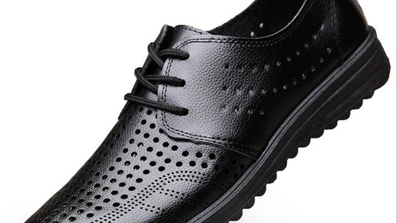 Men's Genuine Leather Breathable Driving Shoes