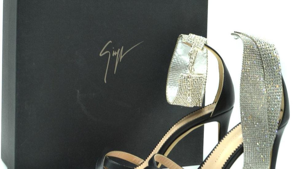 Giuseppe Zanotti Women's Heeled Sandal Black (E900149)
