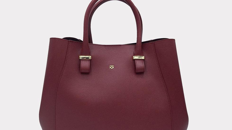 Jane Vegan Leather Designer Handbag By GUNAS New York