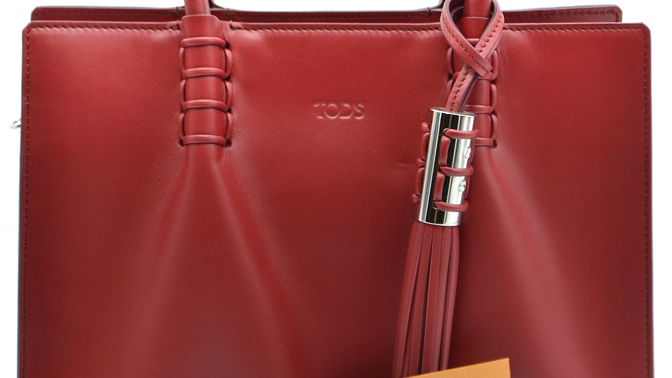Tod's Red Luxury Handbag