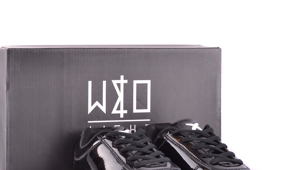 Men's WIZE E OPE Patent Leather Sneakers