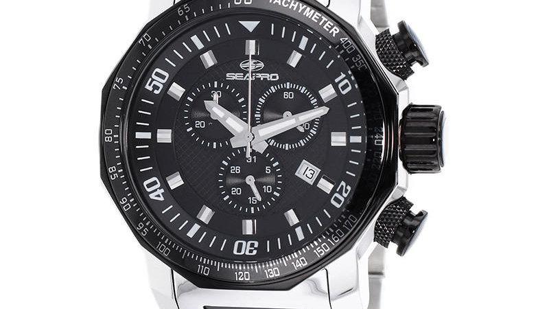 Seapro Men's Coral Wrist Watch