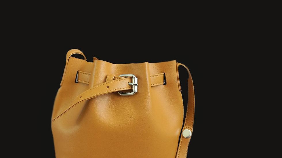 MAISON NOBL Caramel Bucket Bag