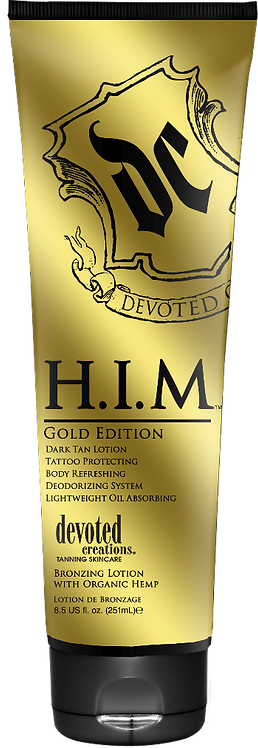 H.I.M. GOLD EDITION Dark Tan Lotion