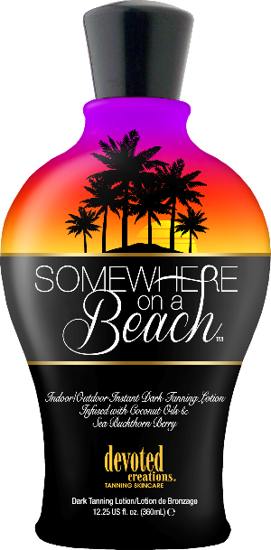 SOMEWHERE ON A BEACH Indoor/Outdoor Lotion