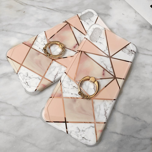 Pink Marble Phone case Iphone